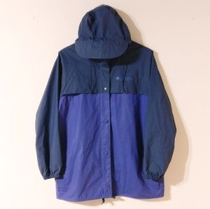Columbia Woman's M Vented Hoody Raincoat Jacket
